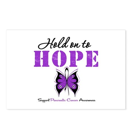 Pancreatic HoldOnToHope Postcards (Package of 8)