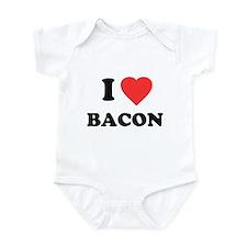 I Love Bacon Onesie