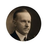 "Calvin Coolidge 3.5"" Button (100 pack)"