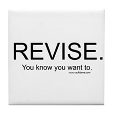 """Revise"" Tile Coaster"