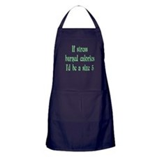 If Stress Burned Calories Apron (dark)