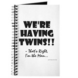 Unique Proud dad of twins Journal