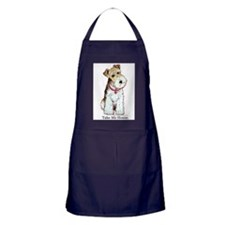 Homeless Fox Terrier Apron (dark)