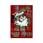 Santa Ate Baby Jesus! Rectangle Magnet