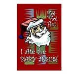 Santa Ate Baby Jesus! Postcards (Package of 8)