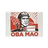 Oba mao Rectangle Magnet (10 pack)