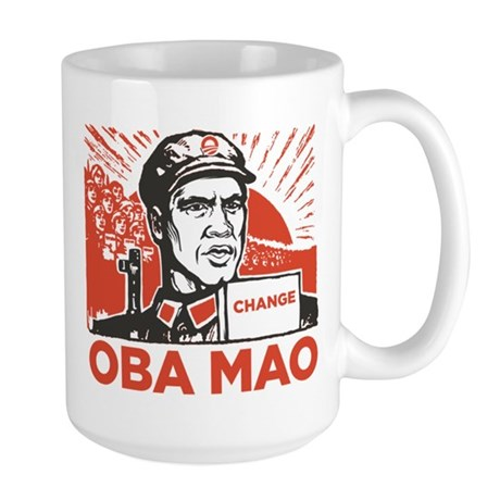 Oba mao Large Mug
