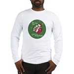 Santa Saw You Masturbate Long Sleeve T-Shirt