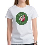 Santa Saw You Masturbate Women's T-Shirt
