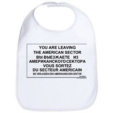 Leaving The American Sector Bib