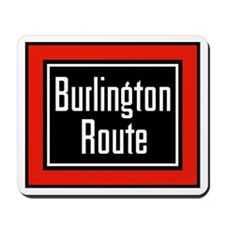Burlington Route Mousepad