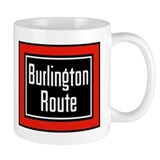 Burlington Route Mug