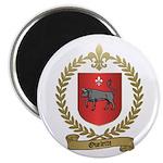 OUELETTE Family Crest Magnet