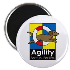 Agility For Fun For Life Magnet