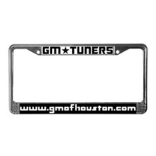 GMOH Black and White License Plate Frame