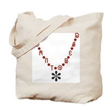 Born To Bead Tote Bag