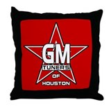 GMOH Red Star Throw Pillow