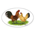 Nankin Bantams Oval Sticker