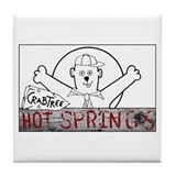 Crabtree Hot Springs Tile Coaster