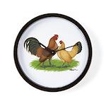 Nankin Bantams Wall Clock