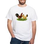 Nankin Bantams White T-Shirt