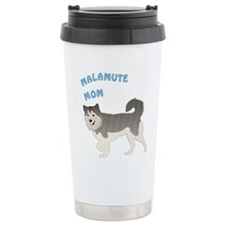 Malamute Mom Travel Mug