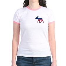 Sarah Palin Moose (pocket) T