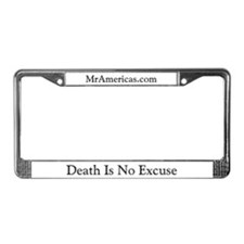 Unique John defendis License Plate Frame
