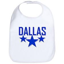 Cute Dallas cowboy Bib