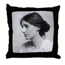 The First Virginia Woolf Throw Pillow