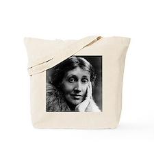 2 Faces of Virginia Woolf Tote Bag
