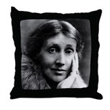 The Second Virginia Woolf Throw Pillow