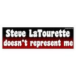 Steve LaTourette Doesn't Represent Me Sticker