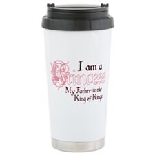 I am a princess King of Kings Ceramic Travel Mug