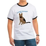 German Shepherd Dad T