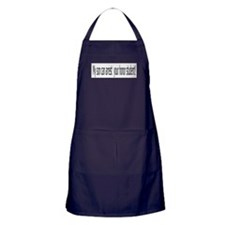 My son can arrest your honor Apron (dark)