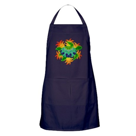 Flame Turtle Apron (dark)