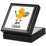 Art Chick Keepsake Box