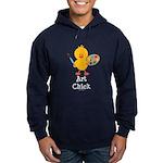 Art Chick Hoodie (dark)