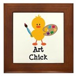Art Chick Framed Tile