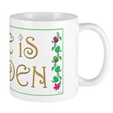 Golden Retriever 'Life is Golden' Small Mug
