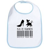 Save Shoes Recycle Your Dog Bib