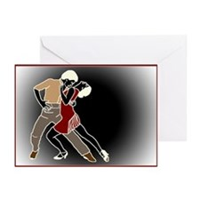 passionate tango Greeting Cards (Pk of 10)