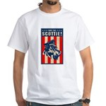 Obey the Scottie! USA Scottish Terrier Tee