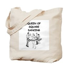 line or square dance Tote Bag