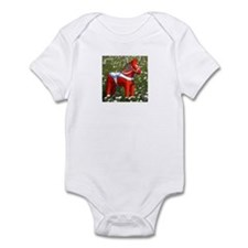 Horse in Flowers Infant Bodysuit