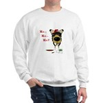 Smooth Collie Santa Sweatshirt