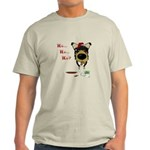 Smooth Collie Santa Light T-Shirt