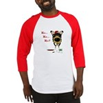 Smooth Collie Santa Baseball Jersey