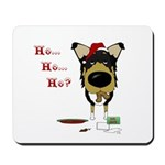 Smooth Collie Santa Mousepad